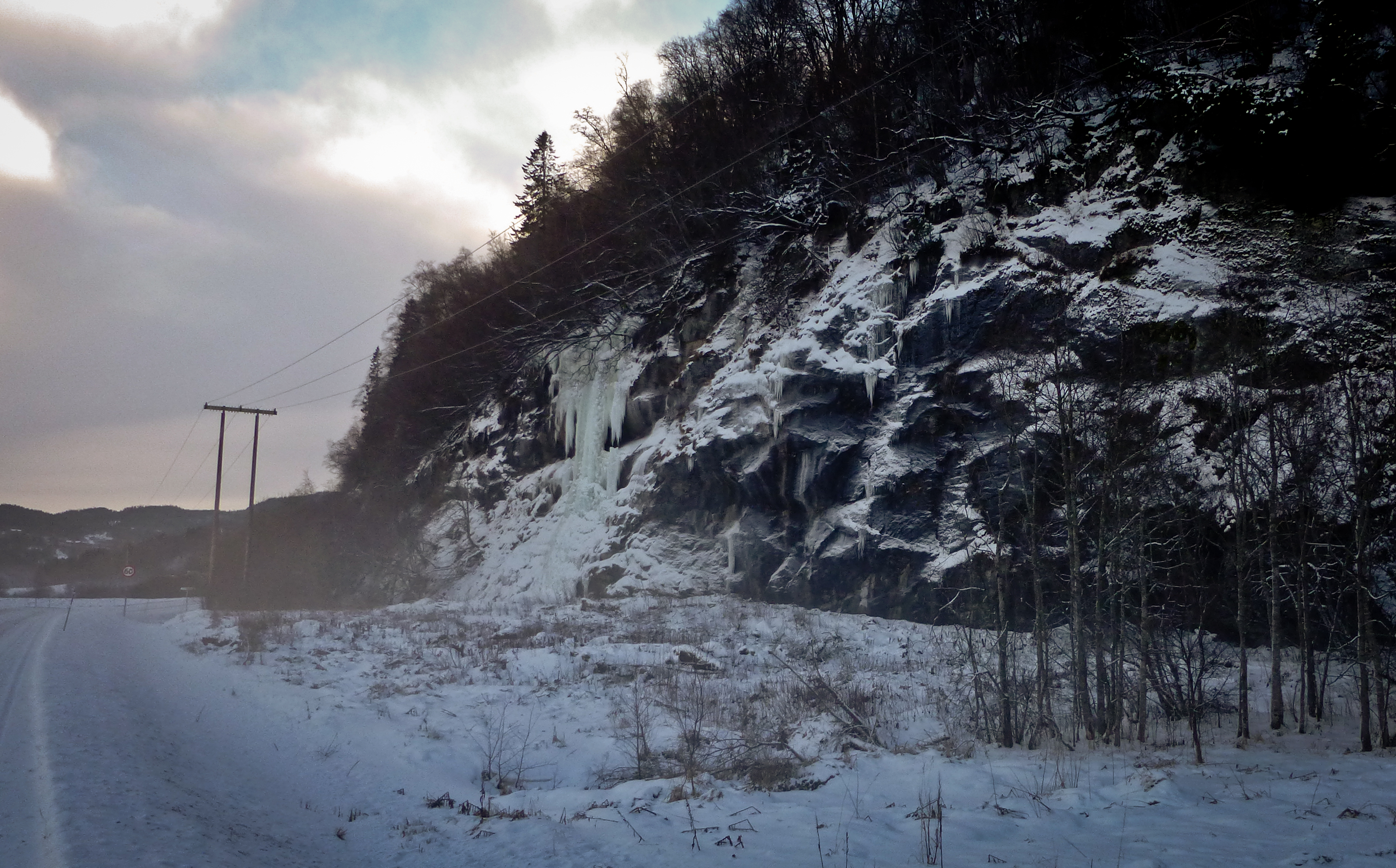 OPPDATERT: Isklatreforhold i Norge