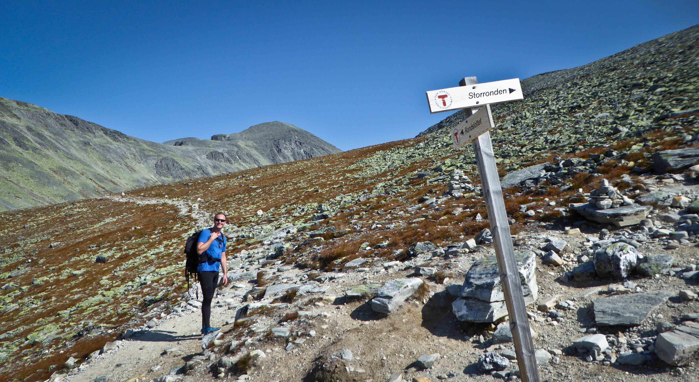 3x 2000 meter i Rondane